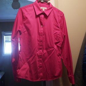 Banana Republic Pink Dress Shirt